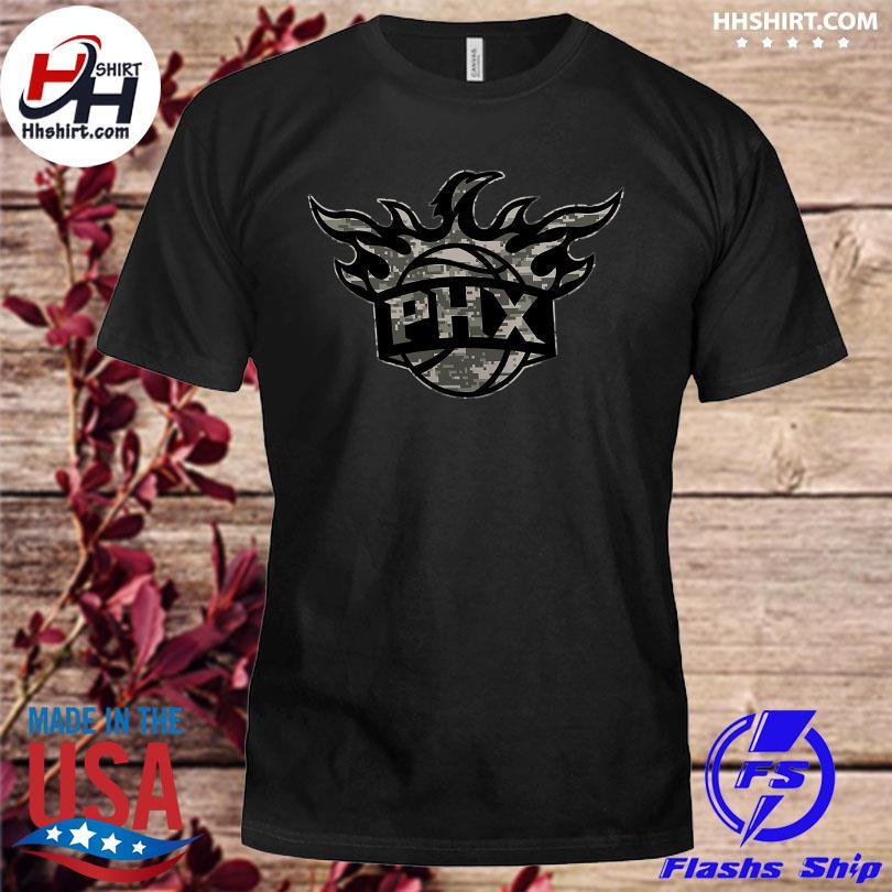 Official Phoenix suns fanatics branded cloak camo shirt