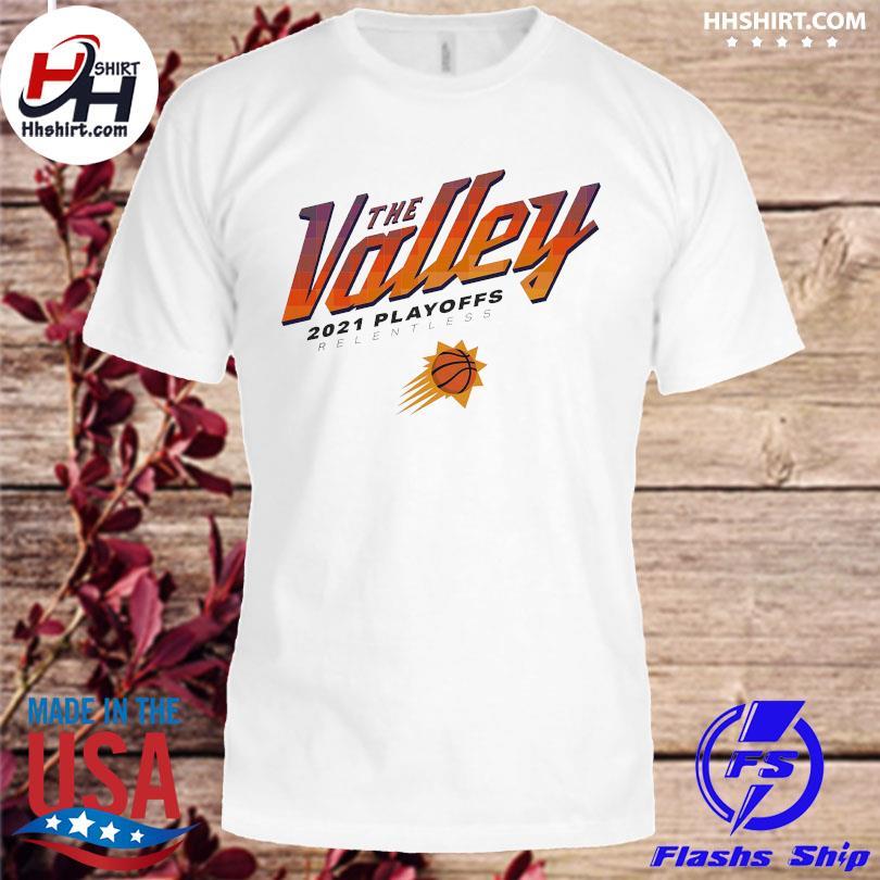 Official Phoenix suns sportiqe 2021 nba playoffs comfy tri-blend shirt
