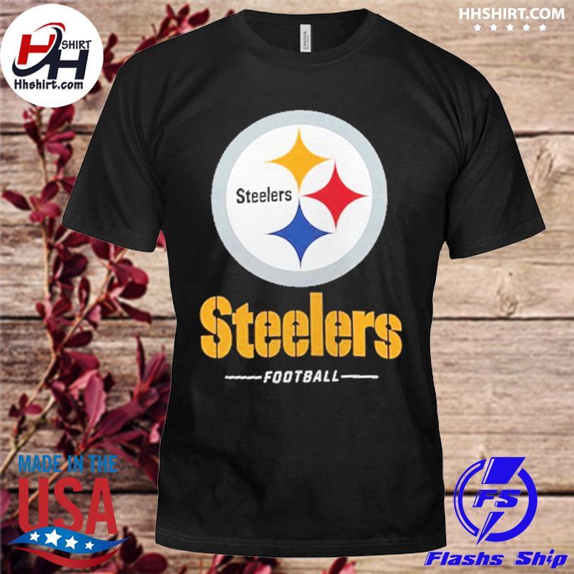 Official Pittsburgh steelers fanatics branded team lockup logo shirt