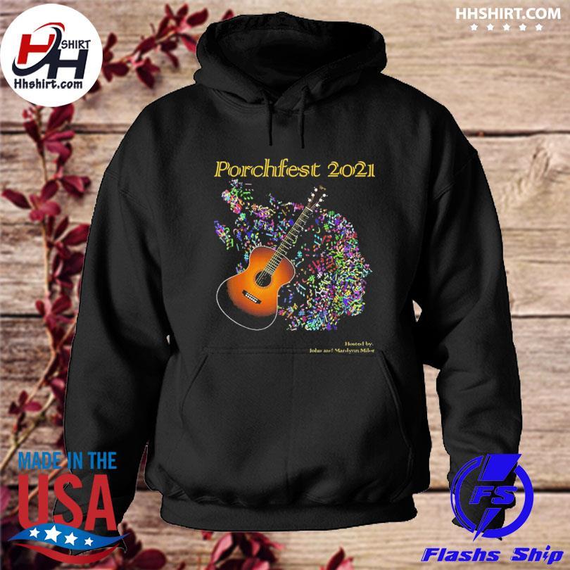 Official Porchfest John And Marilynn Milor 05 June 2021 Shirt hoodie