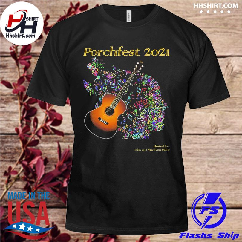 Official Porchfest John And Marilynn Milor 05 June 2021 Shirt