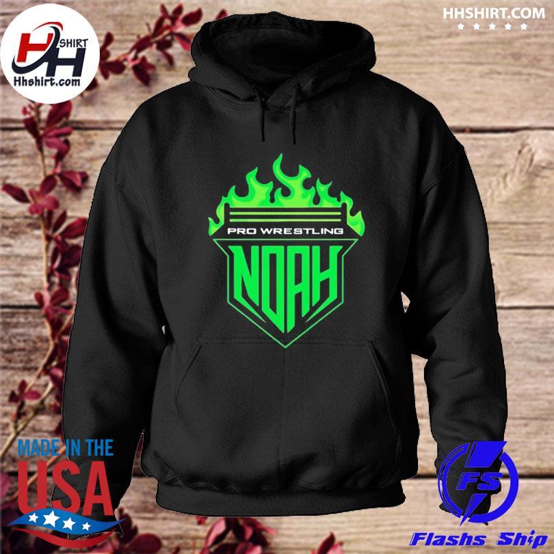 Official Pro-wrestling noah noah fire s hoodie