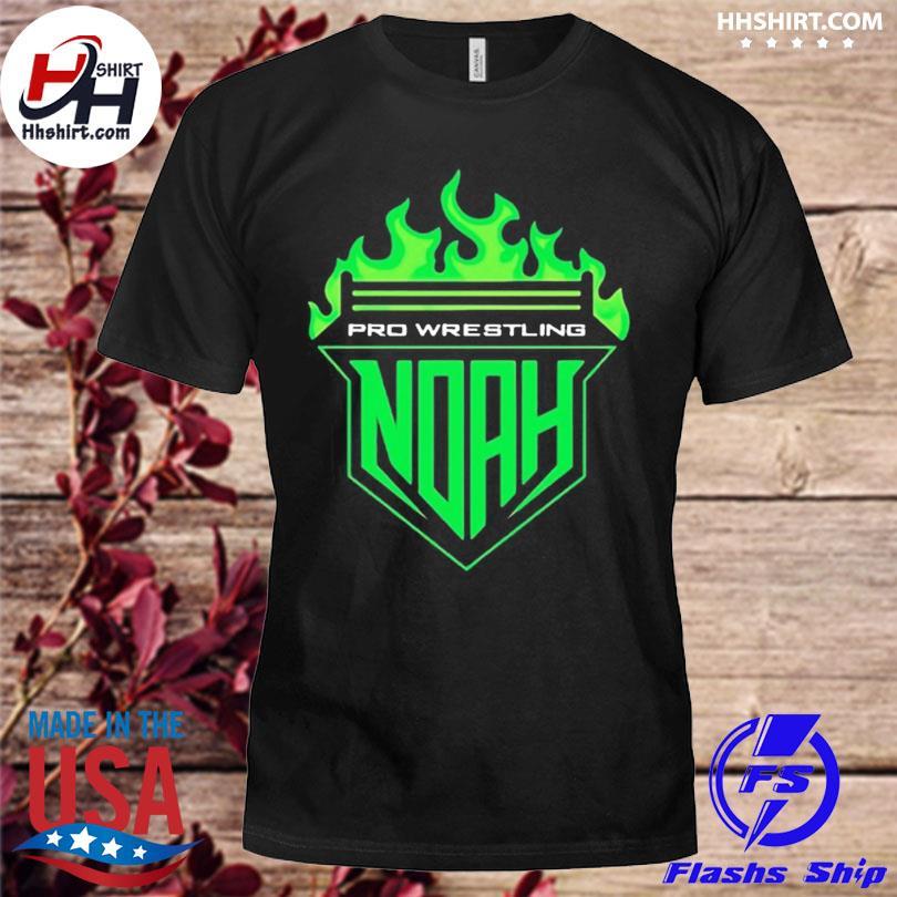 Official Pro-wrestling noah noah fire shirt