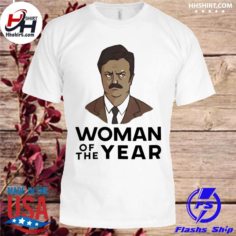 Official Ron swanson woman of the year shirt
