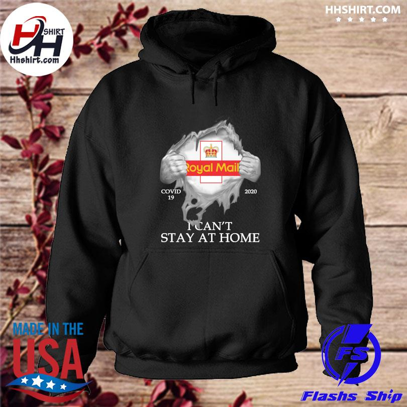 Official Royal Mail Covid 19 2020 I can't stay at home s hoodie