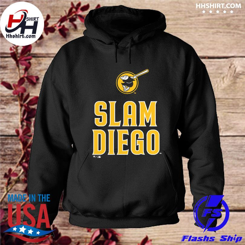 Official San diego padres fanatics branded slam diego s hoodie