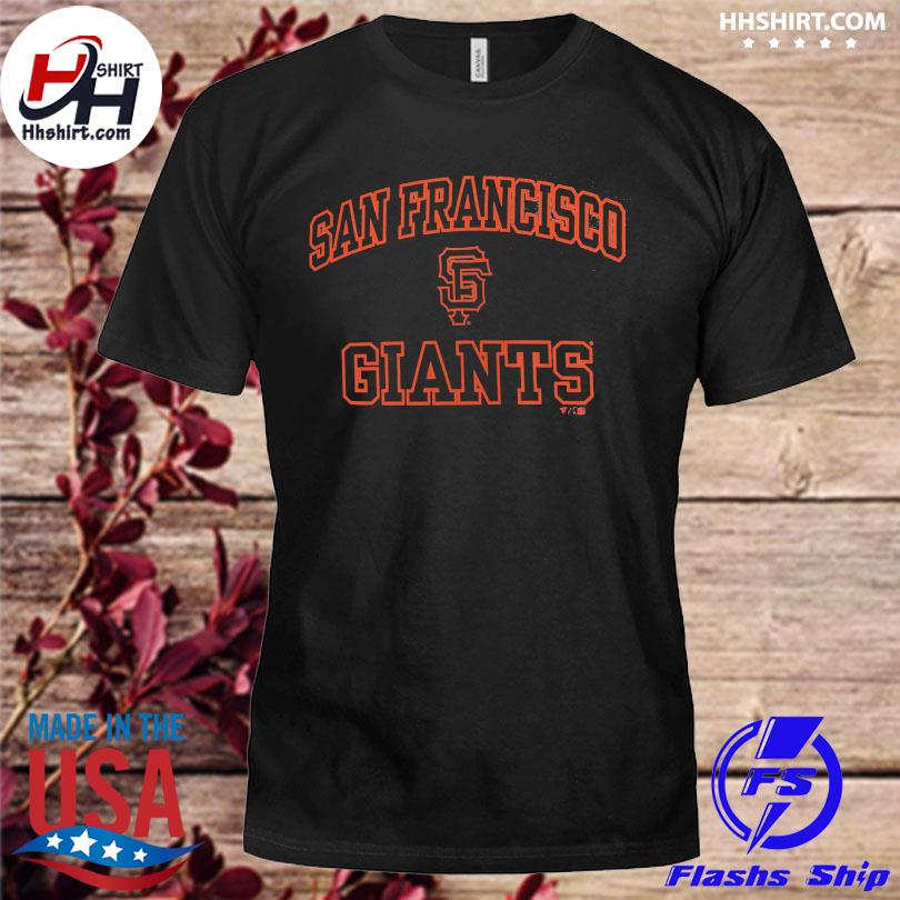 Official San francisco giants fanatics branded heart and soul shirt