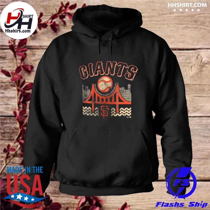 Official San francisco giants fanatics branded the bay hometown collection s hoodie
