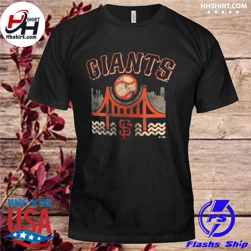 Official San francisco giants fanatics branded the bay hometown collection shirt