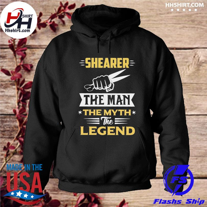 Official Shearer the man the myth the legend s hoodie