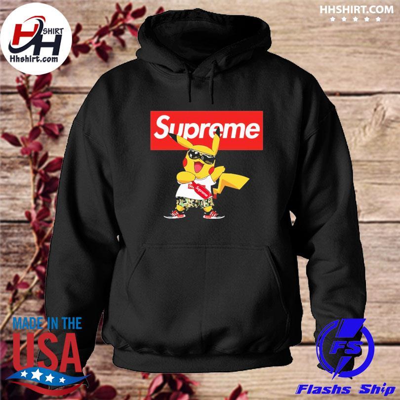 Official Supreme Pokemon Singing Pikachu Shirts hoodie