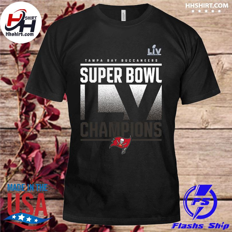 Official Tampa bay buccaneers fanatics branded super bowl lv champions shirt