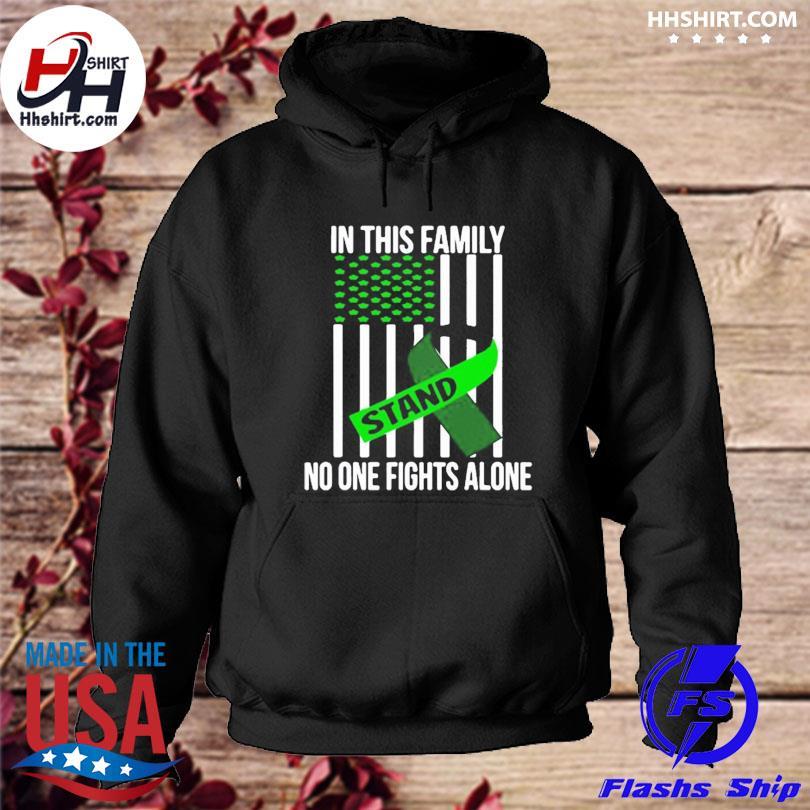 Official Usa flag green ribbon brain injury awareness s hoodie