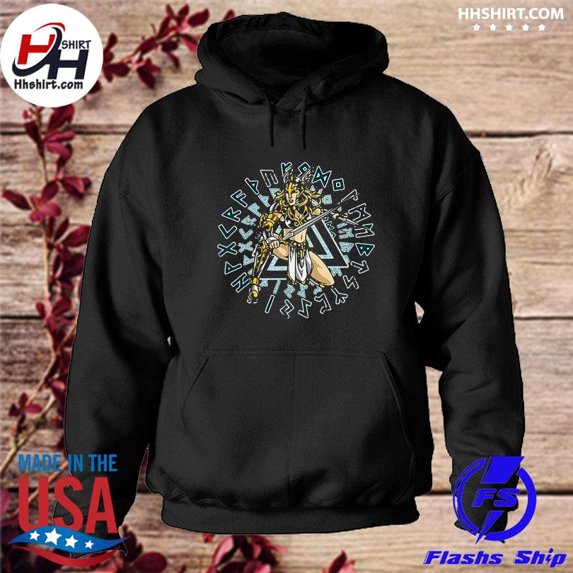 Official Valkyrie norse mythology chooser of the slain s hoodie