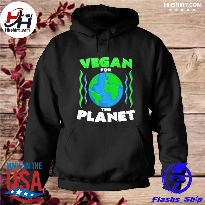 Official Vegan for the planet s hoodie