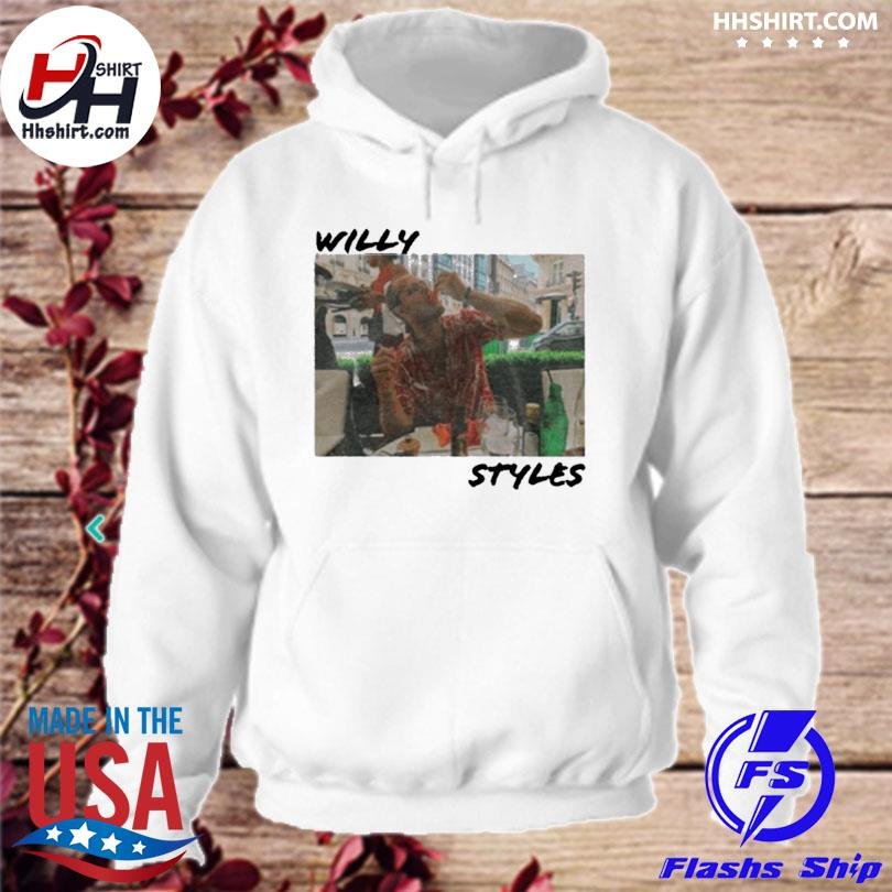 Official Willy styles s hoodie
