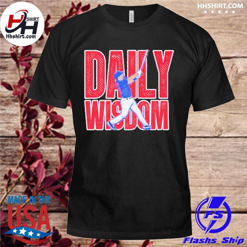 Patrick wisdom daily wisdom shirt