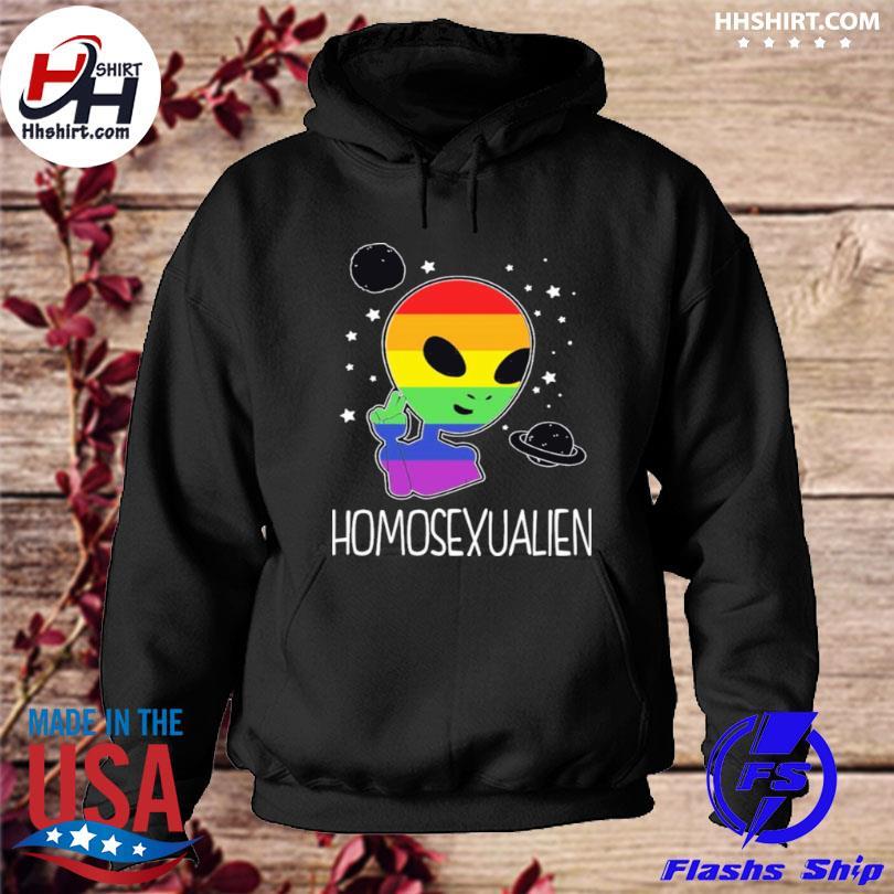 Pride LGBT alien homosexualien s hoodie