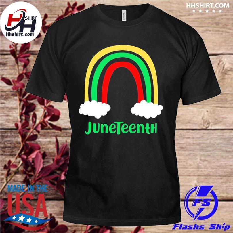 Rainbow Juneteenth Shirt