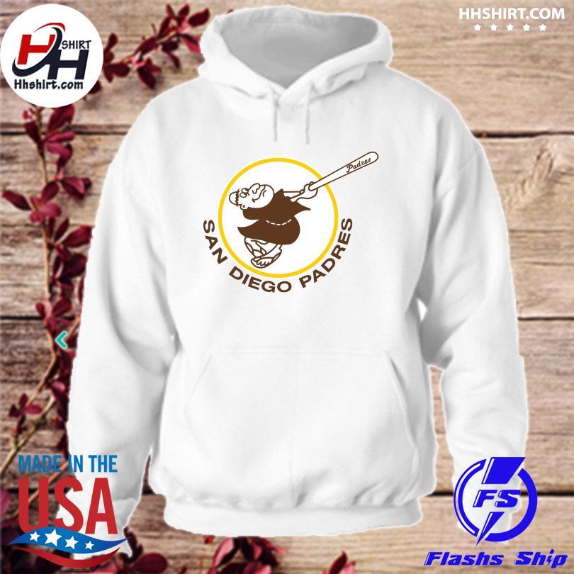 San diego padres logo s hoodie
