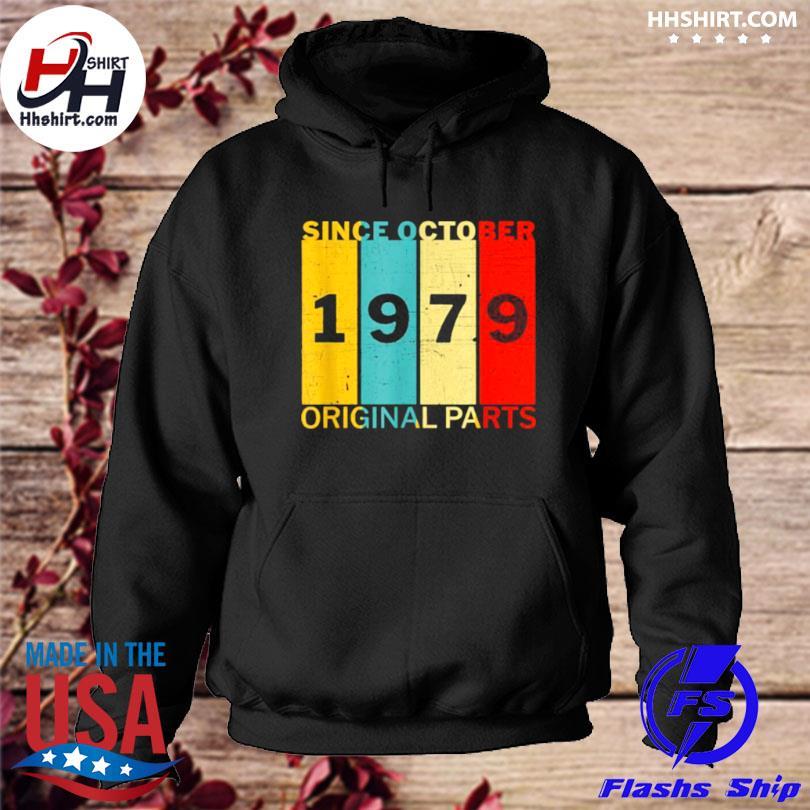 Since october 1979 original parts joke vintage s hoodie