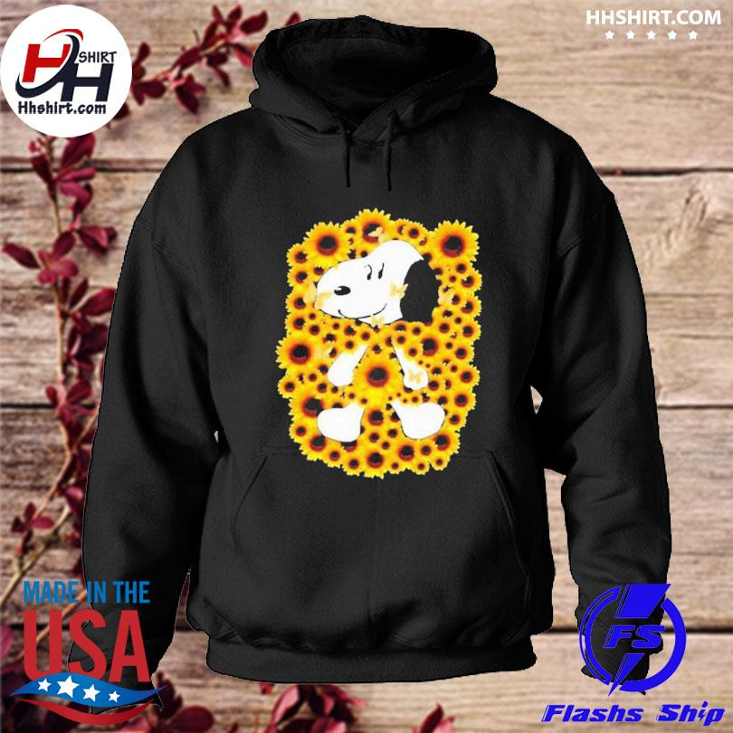 Snoopy sunflower s hoodie