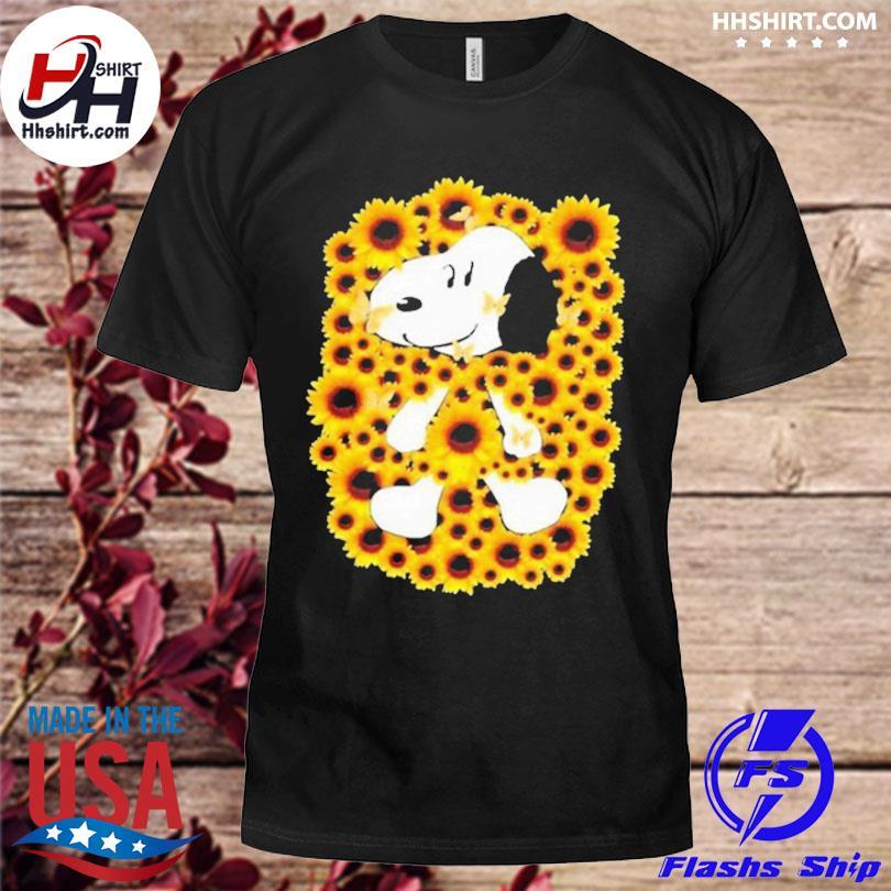 Snoopy sunflower shirt