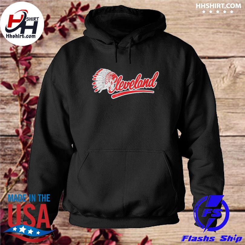 Cleveland Indians Native American s hoodie