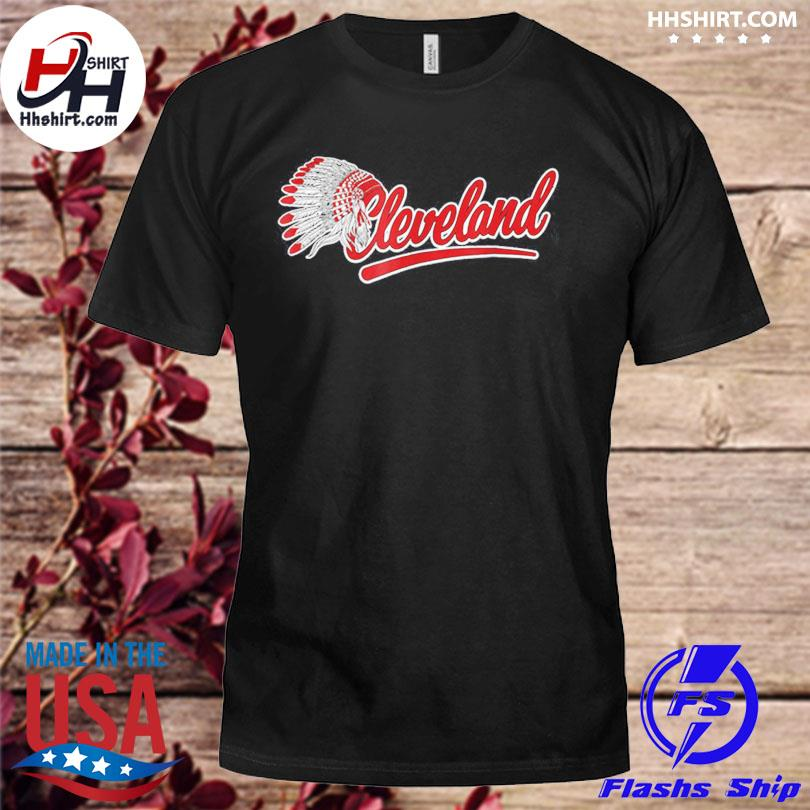 Cleveland Indians Native American shirt