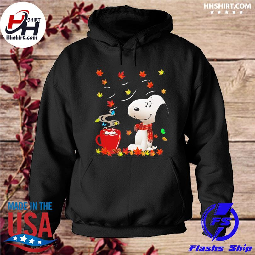 Official Snoopy drink Coffee Autumn s hoodie