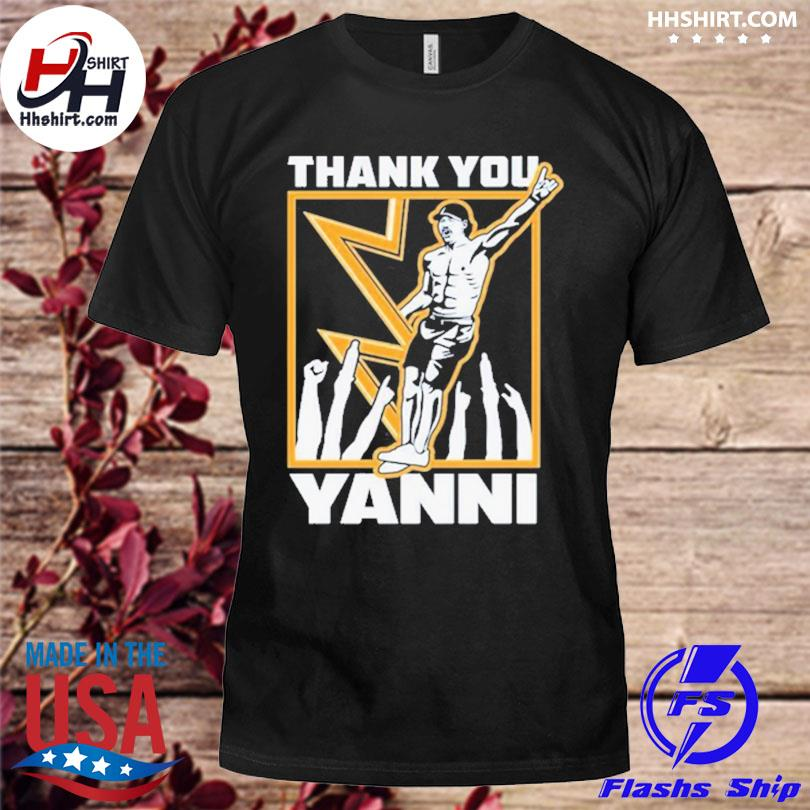 Official Tampa bay lightning thank you yanni shirt