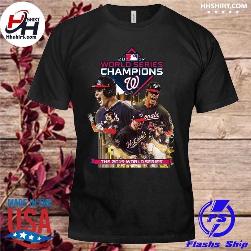 2019 World Series Champions Washington Nationals shirt