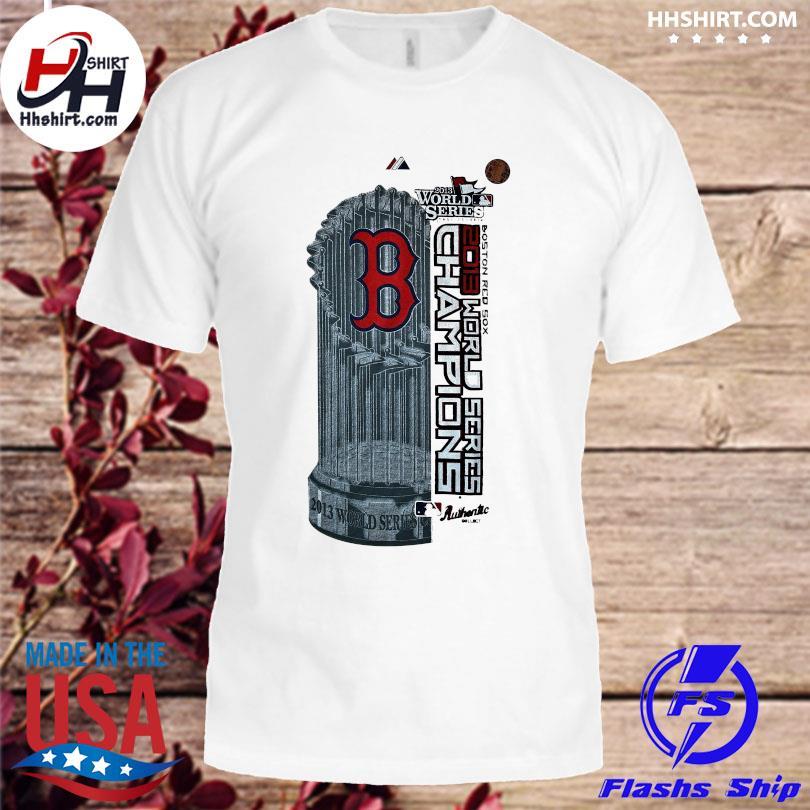 Boston Red Sox MLB World Series Champions World Domination Clubhouse Locker Room Shirt