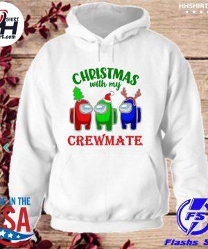 Among Us Christmas with my Crewmate sweater hoodie