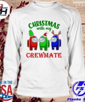 Among Us Christmas with my Crewmate sweater longsleeve