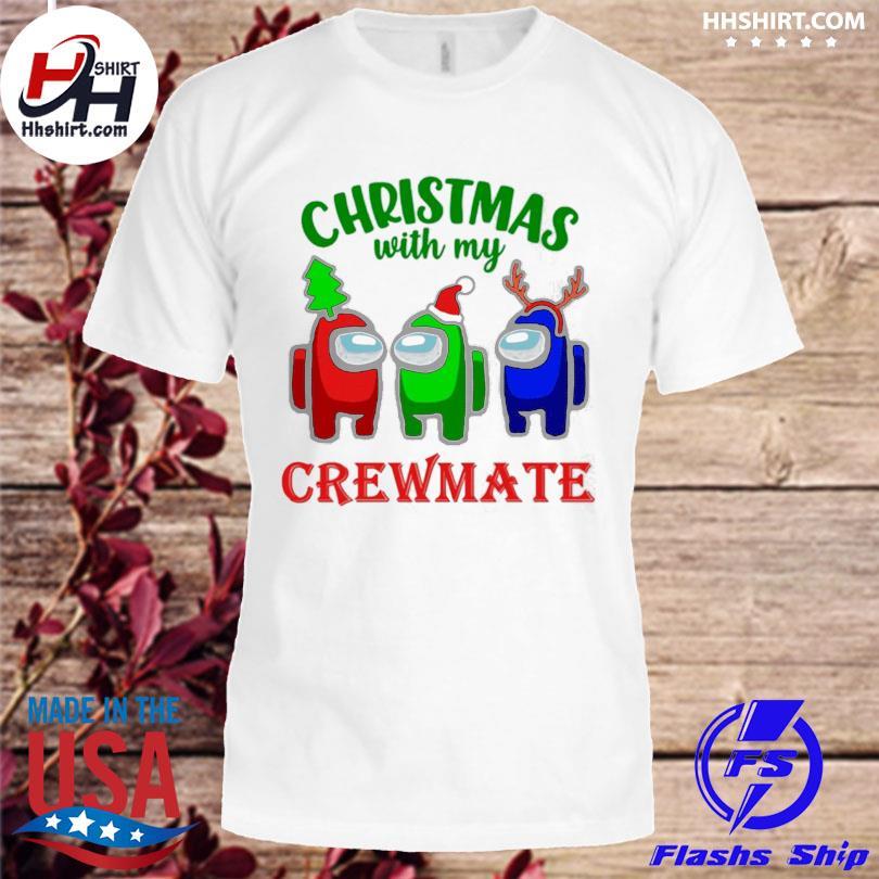 Among Us Christmas with my Crewmate sweater