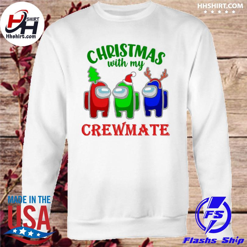 Among Us Christmas with my Crewmate sweater sweatshirt