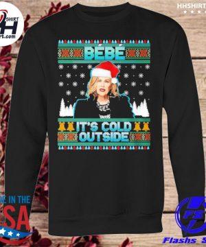 Bebe it's cold outside schitt moira creek funny christmas sweater sweatshirt