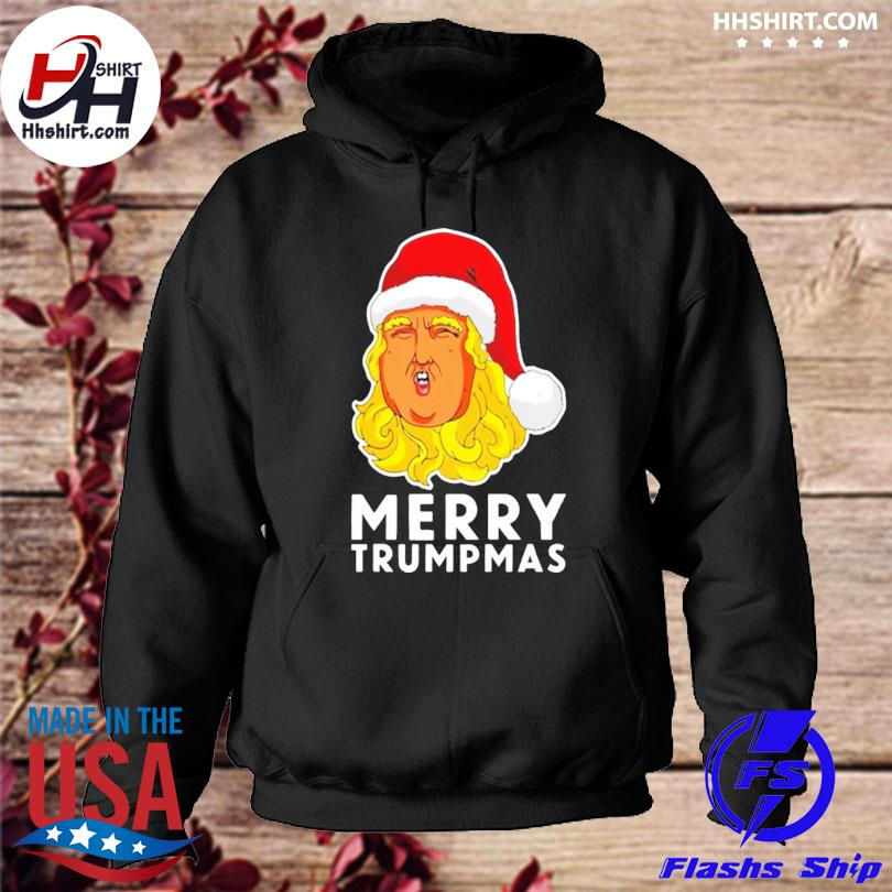 Merry Trumpmas Christmas sweater hoodie
