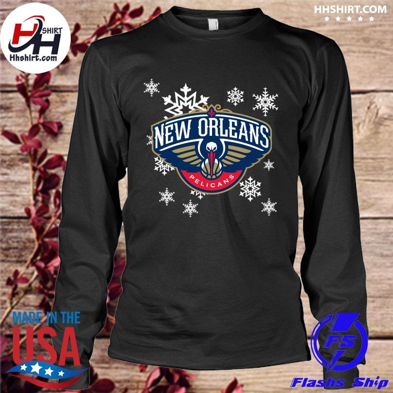 New Orleans Pelicans Merry Christmas Xmas 2021 Shirt longleeve