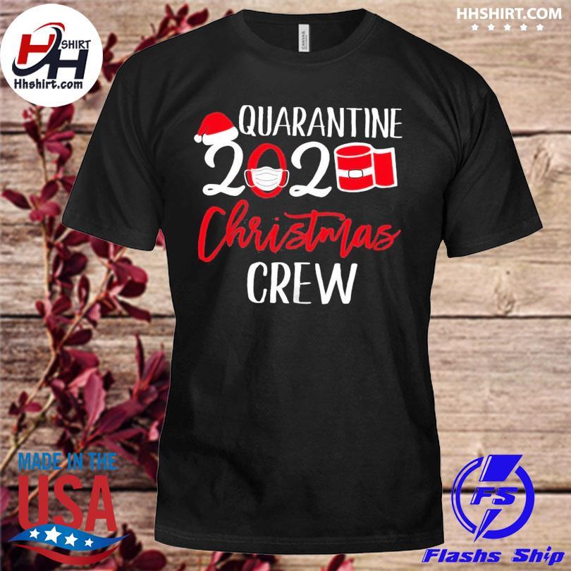 Quarantine 2020 toilet paper Christmas crew sweater