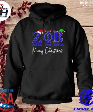 Zeta phi beta merry christmas sweater hoodie