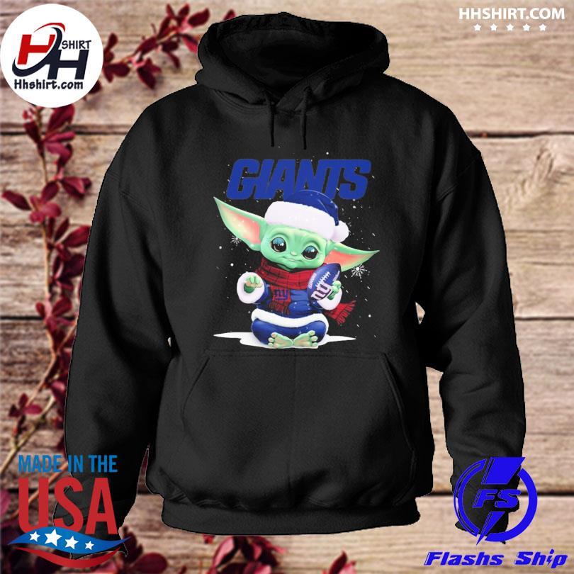 Baby Yoda Giants Christmas sweater hoodie