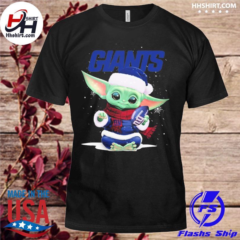 Baby Yoda Giants Christmas sweater