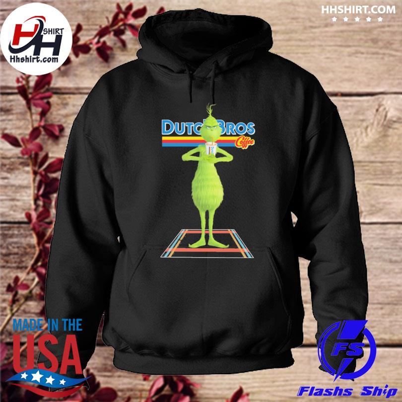 The Grinch Drink Dutch Bros Coffee Christmas sweater hoodie