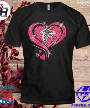 Atlanta Falcons hearts shirt