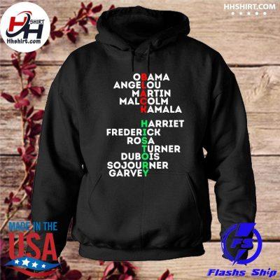 Black history month 2021 dream like leaders kings queens s hoodie