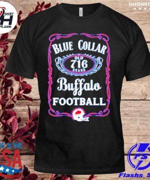 Buffalo Bills Blue Collar Football shirt