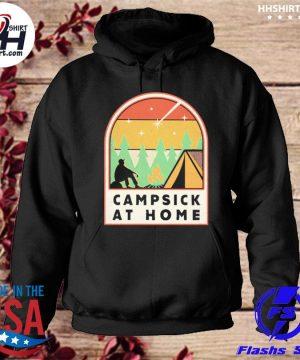 Campsick at home vintage s hoodie