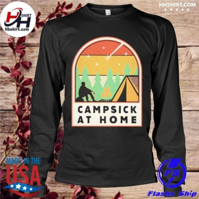 Campsick at home vintage s longleeve